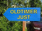 Gästebuch Banner - verlinkt mit http://www.oldtimer-just.de